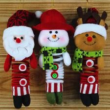 1 Pendentif Ornement Ressort Poupée Noël Décoration de Sapins Maison Noël
