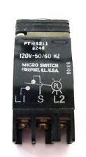 Microswitch Honeywell Ptw5211 Switch 120v 50/60Hz Nos Usa!