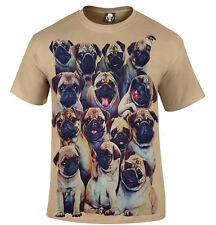 Pugs T-shirt/Divertente/Carino/Pugs vita/Natale Regalo Di Natale/IL CARLINO Padre cane/cucciolo/SUPERIORE