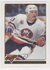 1993-94 Topps Premier Gold 112 Darius Kasparaitis New York Islanders Hockey Card