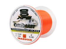 Monofilo Nylon Fluo pesca Surfcasting Trabucco SF XPS Surf 300mt no memory FEU