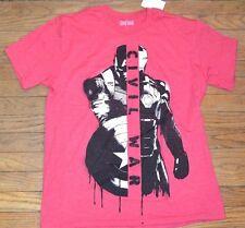 MARVEL T-Shirt Captain America Iron Man Civil War Licensed Men's Graphic Tee