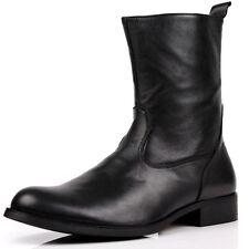 Stiefeletten Schuhe Western Stiefel Herrenstiefel Herren Leder Bikerstiefel W75