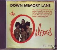 THE ORLONS - Down Memory Lane 29 Hits CD