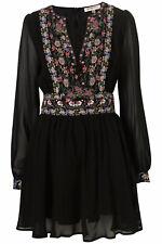TOPSHOP KATE MOSS JENNIFER PANEL DRESS size 8