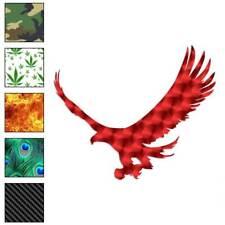 Hawk Eagle Falcon Decal Sticker Choose Pattern + Size #255