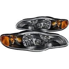 Anzo USA 121165 Crystal Headlight Set Fits 00-05 Monte Carlo