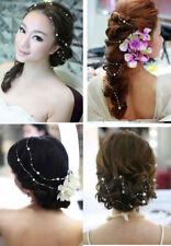 lot 1,30 cm bijoux perle + épingle à cheveux chignon accessoire mariage soirée .