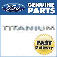 Genuine Ford Mondeo Titanuim Badge  (2007 >) 1719464