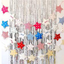 Cartoon Glitter Star Cake Topper Party Banner Surrounding Birthday Decoration BL