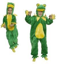 Frosch Kinder König Kostüm Overall Plüsch Froschkostüm Märchen Froschkönig Tier