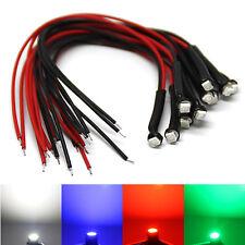TOP* 3528 SMD LEDs mit Widerstand * weiß blau rot grün gelb * LED Kabel 12V