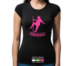 'Merica Fat Man Pole Dancer Right Funny Sexy  T Shirt Tank Top