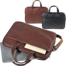 TONY PEROTTI Bürotasche Leder Messenger Bag Aktentasche Business Schultertasche