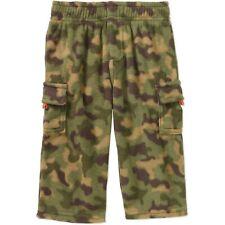 Boys Fleece Pants Camouflage Green Camo 6 18 24 mo 2T Toddler GARANIMALS Cargo
