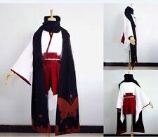 Inu x Boku SS Shirakiin Ririchiyo Cos Cosplay Party Costume Red Kimono Suit