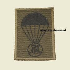 """österr. Bundesheer Abzeichen, """"Fallschirm Basiskurs TherMilAk"""", BH Jagdkommando"""
