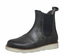 Momino 3433M Winter Chelsea Boots Stiefeletten Lammfell Gr. 28 - 35 Neu
