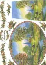 Carta di Riso Collezione Stamperia autunno 33 x 50 Arte colore hobby entra!!!