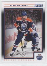 2012-13 Score Black Ice #196 Ryan Whitney Edmonton Oilers Hockey Card