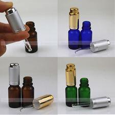 1/3oz 10ml Empty Glass Eye Dropper Bottles Press Pump Dilution Can Release Hands