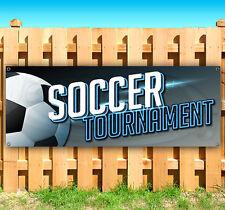 Soccer Tournament Advertising Vinyl Banner Flag Sign Many Sizes Usa