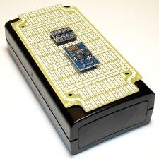 ESP8266 ESP-01 Module + Level Shifter + Prototype PCB Board + ABS Enclosure Case