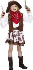 Sheriff Jessie Tassel Set Western Rodeo Girls Cowgirl Fancy Dress Wild Farm Hat