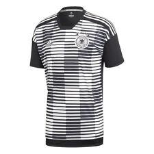 adidas DFB Aufwärmtrikot Deutsche Nationalmannschaft WM 2018 schwarz/weiß CE6632