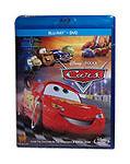 Cars (Blu-ray/DVD, 2-Disc Set) Disney Brand New