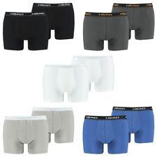 4 egli Pack Head Uomo Boxershorts in//Blu//Taglia XL//Biancheria Intima