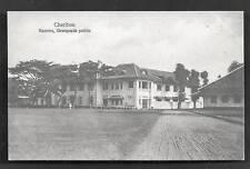 Cirebon Cheribon Police Casern Java Indonesia ca 1910