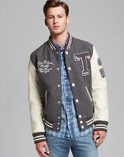 NWT True Religion Mens - Richie Varsity Letterman Jacket