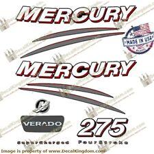Mercury Verado Outboard Engine Decals (Multiple HP) 3M Marine Grade