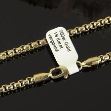 Venezianerkette 45 - 60 cm x 4 mm 750er Gold 18 Karat vergoldet UVP: 89,90 K1789