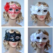 Halloween Damen Augenmaske Ballmaske Gesichtmaske Helloween Party M1