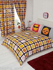 Las emociones emoji emoticono Sleepy triste Smiley Negro Rojo Amarillo Ropa de cama O cortinas