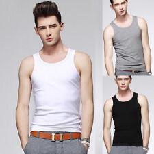 Mens 3XL Gym Sport Vest Tank Top Men T-shirt Sleeveless Bodybuilding Shirts New