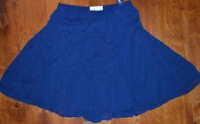Women's Old Navy Dark Blue Slip On Elastic Waist Lined Godet Skirt Sizes XS, S
