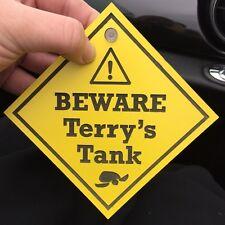 Personalised Pet tank terrarium engraved sign turtle terrapin reptile snake
