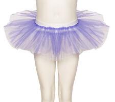 Lilac & White Tutu Skirt Dance Ballet Halloween Fancy Dress Katz All Sizes