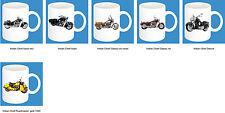 300 ml ceramica Tazza con fantasia: Indiano Moto modello caffé Tazza Pott 11oz