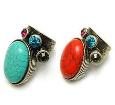 Vintage Art Deco retro antique style stone ring multiple choices