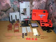 (e3) 4123 Caboose ton brake van western wagon ferroviaire accessoires pièces de rechange 4034