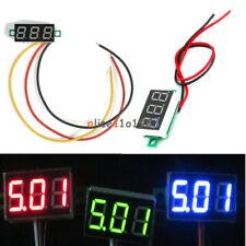 0.36 inch 2/3 Lines Wires DC3-30V DC0-30V LED Voltage Meter 3-Digital Voltmeter
