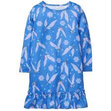 NWT Gymboree Snow Fairy Blue Long Sleeve Nightgown Gymmies Girl Pajamas