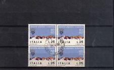 B6034 - ITALIA 1972 - ALPINISTI - QUARTINA USATA