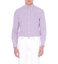 Polo Ralph Lauren Men's Shirt in Slim Fit Check Sizes: S