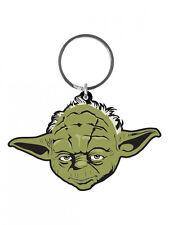 Star Wars porte-clés caoutchouc maître Yoda 6 cm porte clé keychain 383453