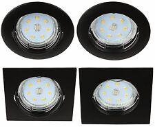 Einbaustrahler Rahmen rund / eckig Einbaurahmen Einbauleuchte Spot LED